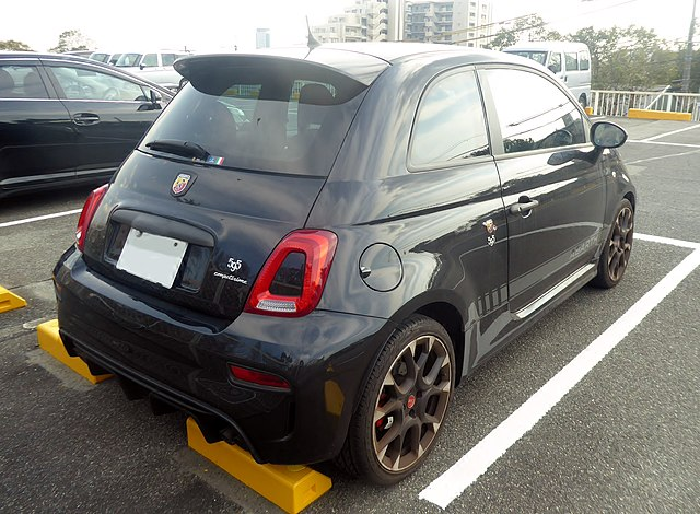 Abarth 595 Competitione