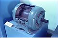 AC Motor - Cut Section - Electricity Gallery - BITM - Calcutta 2000 090.JPG