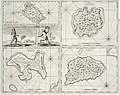 AMH-7218-KB Maps of the islands of Manipa, Noesa Laut, Oma en Honimoa and a depiction of Manipese fencers.jpg