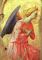 ANGELICO, Fra (Studio of) Adoration of an Angel, early 1400s.jpg