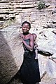 ASC Leiden - W.E.A. van Beek Collection - Dogon daily life 22 - Woman with child visiting the anthropologist, Tireli, Mali 1985.jpg