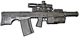 ASh-12.7 - Image: A Sh 12 Bullpup assault rifle