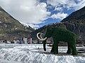 AUT — Tirol — Längenfeld — Bezirk Imst — Längenfeld — Oberlängenfeld 140 (Aqua Dome aussen - Mammut).jpg