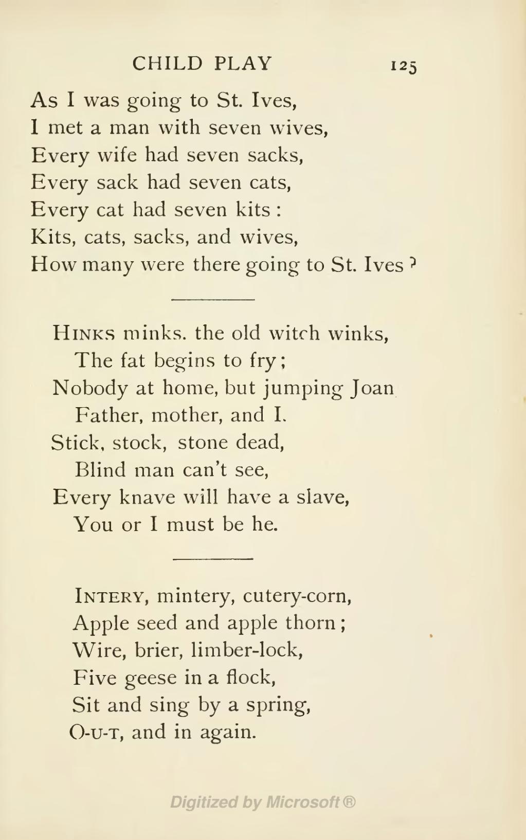 Page A Book Of Nursery Rhymes Djvu 147 Wikisource The