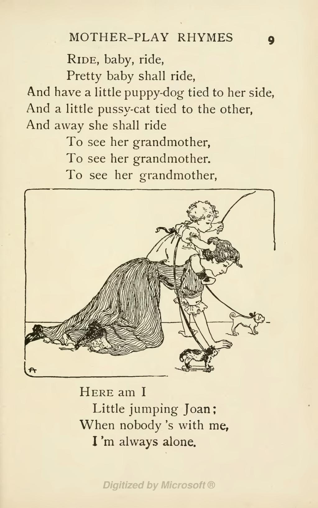 Page A Book Of Nursery Rhymes Djvu 31 Wikisource The Free Online
