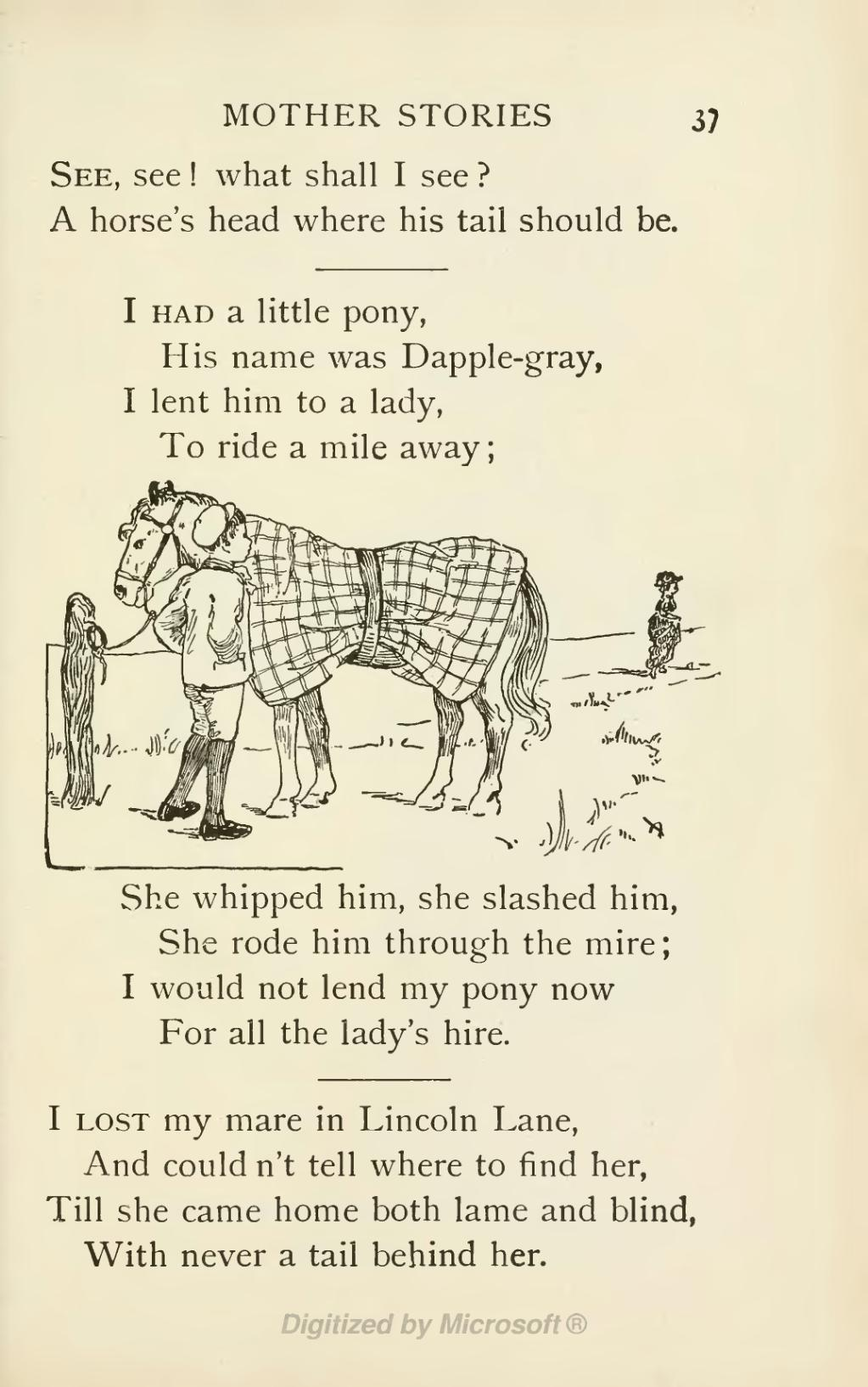 Page A Book Of Nursery Rhymes Djvu 59