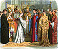 A Chronicle of England - Page 373 - Marriage of Henry V and Katherine of France.jpg