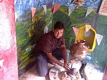 A Devotee At Bhole Baba Pathari Wale Temple In Kashipur.jpg