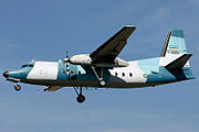 A Fokker 27 of Navy of Iran