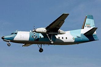 Islamic Republic of Iran Navy - A Fokker F27 of the IRINA.