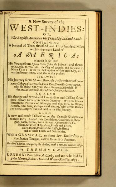 File:A New Survey of the West Indies or The English American his Travel by Sea and Land.djvu