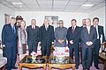 A Parliamentary delegation from Poland led by the Speaker of the Lower House of Polish Parliament, Mr. Jozef Oleksy meeting with the Vice President Shri Bhairon Singh Shekhawat in New Delhi on December 10, 2004.jpg