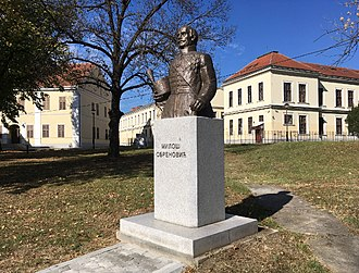 Miloš Obrenović - A bust of Miloš Obrenović in Kragujevac