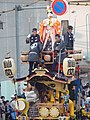 A float in Kawagoe Festival.JPG