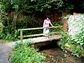 A footbridge in Cerne Abbas - geograph.org.uk - 855577.jpg
