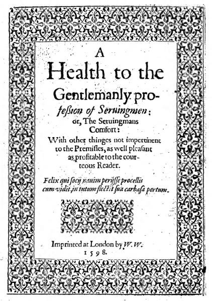 File:A health to the gentlemanly profession of servingmen.djvu