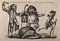 A nightwatchman disturbs a body-snatcher who has dropped the Wellcome V0010463.jpg