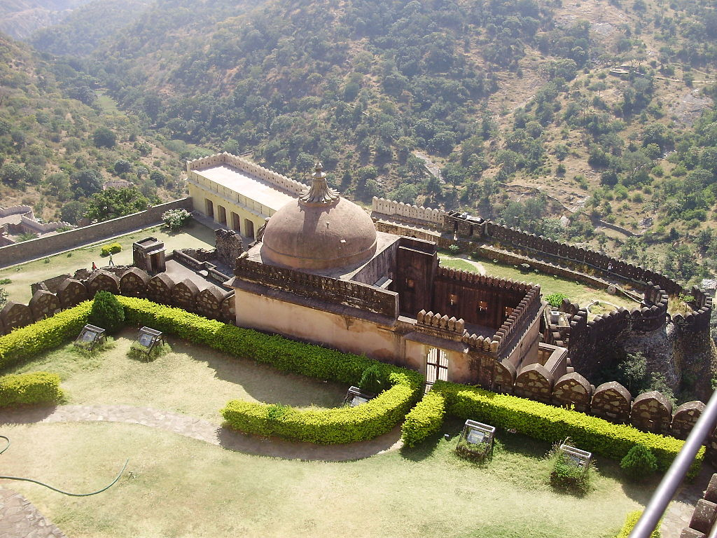 A small place inside kumbhalgarh fort