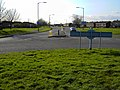 A view west from a roundabout in Yate, Bristol - geograph.org.uk - 364798.jpg
