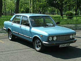 A visitors Fiat 132 2000 GLS, 1980 (6980037744).jpg