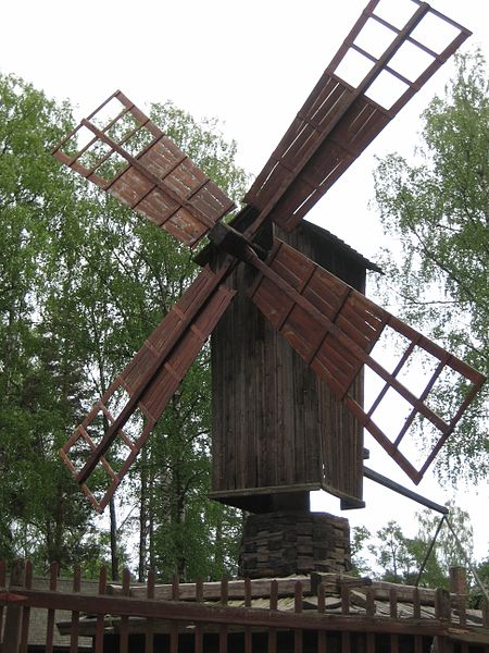 File:A wind mill at Seurasaari.jpg