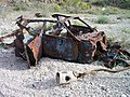 Abandoned Shot up Vehicle - panoramio.jpg