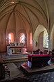 Abside de l'église saint Marcouf, Saint-Marcouf, France.jpg