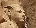 Abu Simbel temple guard face angle view.jpg