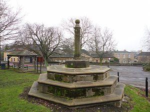 Ackworth, West Yorkshire - Image: Ackworth village cross