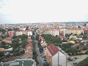 Adamovićevo Naselje - Panoramic view of Adamovićevo Naselje