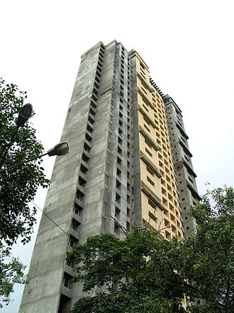 Adarsh Housing Society scam - Adarsh Housing Society in July 2011.