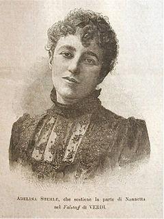 Adelina Stehle Austrian singer
