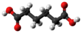 Adipic acid molecule ball from xtal.png
