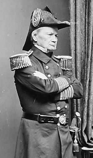 William Shubrick - Image: Admiral William B. Shubrick