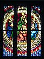 Adoration of the Magi, Southern Germany, c.1400, Stained-Glass (3620702063).jpg