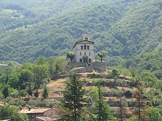 Adrara San Martino - Church of Santa Maria Annunciata al Monte.