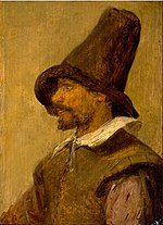 Adriaen Brouwer - Head of a man with a pointed hat.jpg