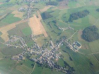 Goeblange - Aerial view of Goeblange (Giewel)