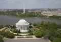 Aerial view of Jefferson Memorial and Washington Monument, Washington, D.C LCCN2010630900.tif