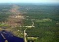 Aerial view path of destruction by 2011 tornado; Western MA; (DSC02645).jpg