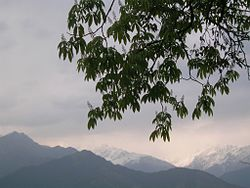 Himalyan view from Pithoragarh
