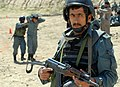 Afghan National Civil Order Police officers train for operations in Afghanistan. (4537901262).jpg