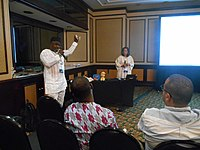 African Meetup at Wikimania 2018 (03).jpg