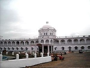 Agartala railway station - Image: Agartala Station
