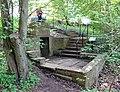 Agnes Broun Burns's Well, Grant's Braes, Haddington, East Lothian. Memorial steps.jpg