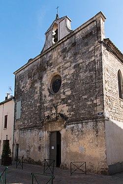 Aigues Mortes-Chapelle de Pénitents Blancs-20140406.jpg
