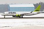 Air Baltic, YL-CSM, Airbus A220-300 (46611939532).jpg