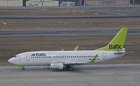 YL-BBX - B733 - Air Baltic