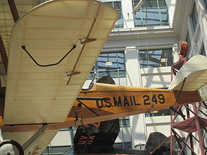 National Postal Museum - Image: Air mail plane at National Postal Museum IMG 4373