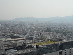 Air view of Kyoto.JPG